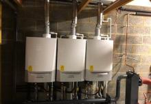 3 heating boiler installation